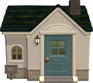 Exterior of Dotty's house in Animal Crossing: New Horizons