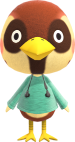 Artwork of Sparro the Bird