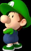 Baby Luigi, an Animal Crossing villager.