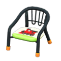 Baby Chair (Black - Train) NH Icon.png