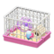Hamster Cage (Pink) NH Icon.png