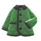 Quilted Down Jacket (Green) NH Icon.png