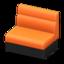 Box Sofa (Orange)