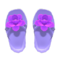 Flower Sandals (Purple) NH Icon.png