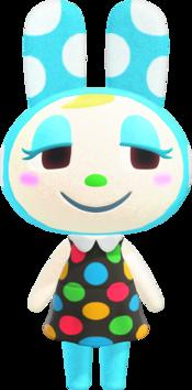 Francine, an Animal Crossing villager.