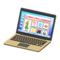 Laptop (Gold - Online Shopping) NH Icon.png