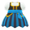 Pirate Dress (Blue) NH Icon.png