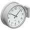 Double-Sided Wall Clock (Silver) NH Icon.png
