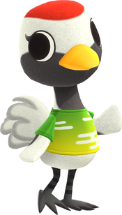 Gladys, an Animal Crossing villager.