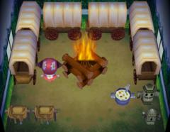 Sven's house interior