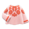 Peasant Blouse (Pink) NH Icon.png
