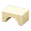 Wooden-Block Stool (Mixed Wood)