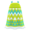 Zigzag-Print Dress (Lime) NH Icon.png