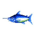 Blue Marlin DnMe+ Field Sprite Upscaled.png