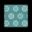Green Floral Flooring