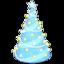 Illuminated Tree (Blue)