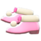 Pom-Pom Boots (Pink) NH Icon.png