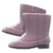 Velour Boots (Gray) NH Icon.png
