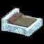 Frozen Bed (Ice - Dark Brown)