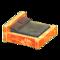 Frozen Bed (Ice Orange - Dark Brown) NH Icon.png
