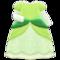 Princess Dress (Green) NH Icon.png