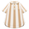 Vertical-Stripes Shirt (Beige) NH Icon.png