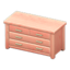 Wooden Chest (Pink Wood)