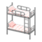 Bunk Bed (Silver - Checkered) NH Icon.png