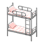 Bunk Bed (Silver - Checkered)