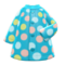 Dotted Raincoat (Turquoise) NH Icon.png