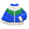 Down Ski Jacket (Blue & Green) NH Icon.png