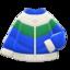 Down Ski Jacket (Blue & Green) NH Icon.png