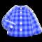Gingham Picnic Shirt (Blue) NH Icon.png