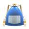 Mom's Knapsack (Denim with Stripes) NH Icon.png
