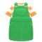 Overall Dress (Green) NH Icon.png