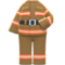Firefighter Uniform (Brown) NH Icon.png