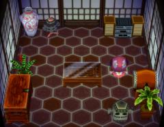 Fang's house interior