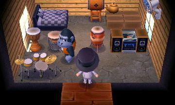 Interior of Peewee's house in Animal Crossing: New Leaf