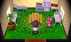 Puddles's house interior