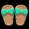 Ribbon Sandals (Green) NH Icon.png
