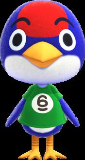 Jay, an Animal Crossing villager.