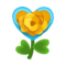 Orange Heart Rose PC Icon.png