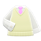 Sweater-Vest (White) NH Icon.png