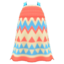 Zigzag-Print Dress (Coral) NH Icon.png