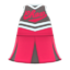 Cheerleading Uniform (Berry Red) NH Icon.png