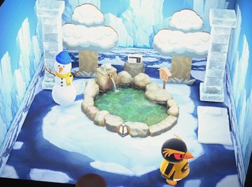 Interior of Hopper's house in Animal Crossing: New Horizons