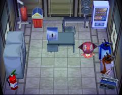 Twirp's house interior