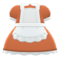 Maid Dress (Brown) NH Icon.png
