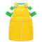 Overall Dress (Yellow) NH Icon.png