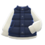 Puffy Vest (Navy Blue) NH Icon.png